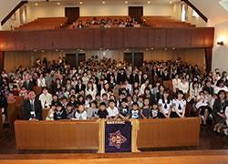 山梨英和幼稚園創立100周年記念感謝礼拝・祝会02