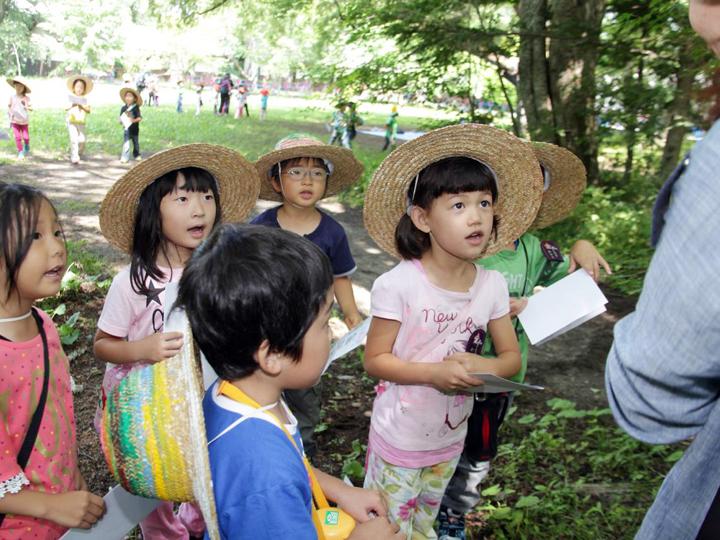 夏期キャンプ-7月(年間行事)